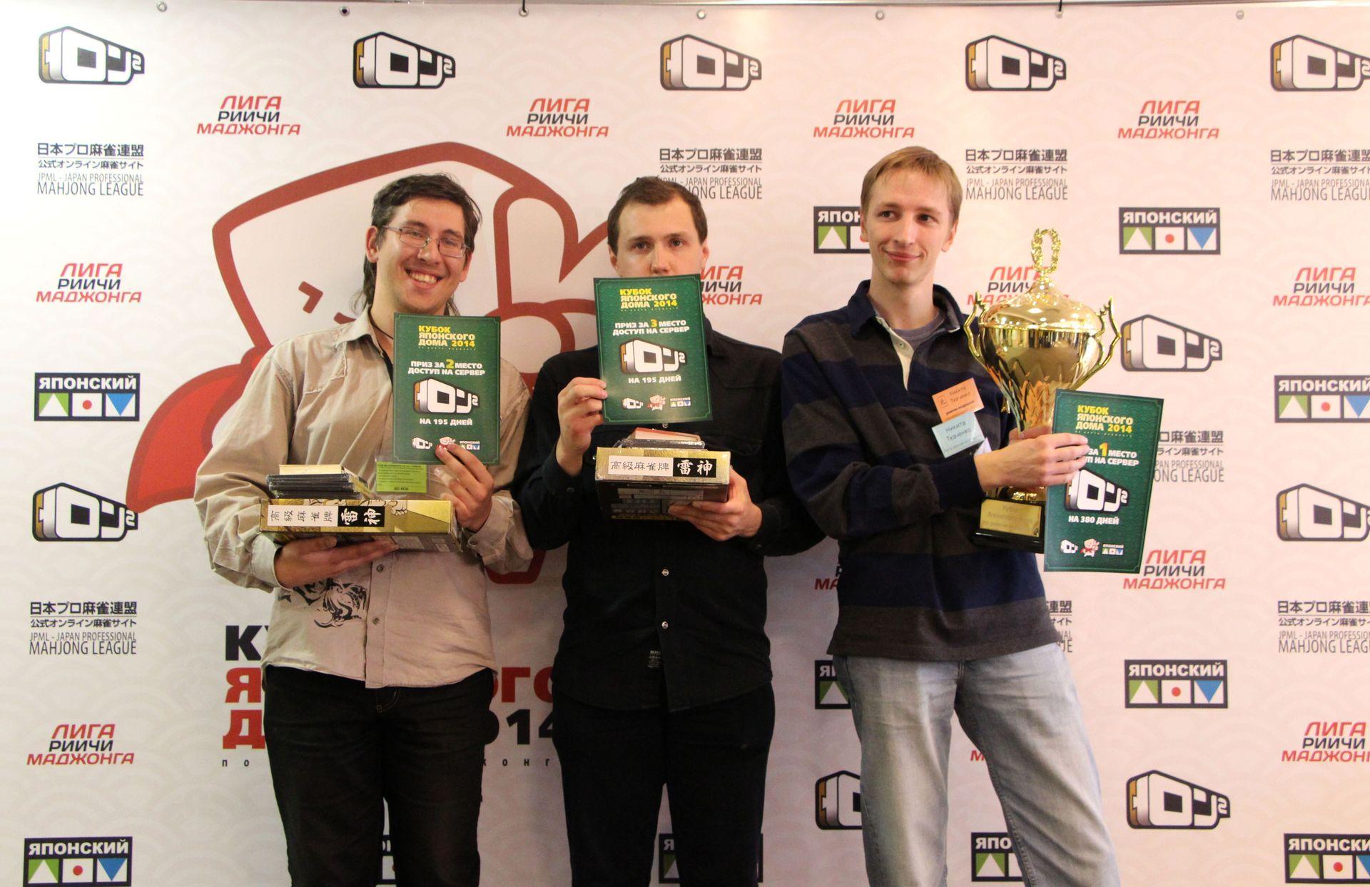 Трое финалистов