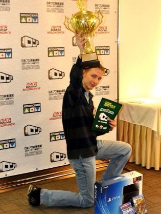 1-е место - Никита Ткаченко - Лига риичи-маджонга!