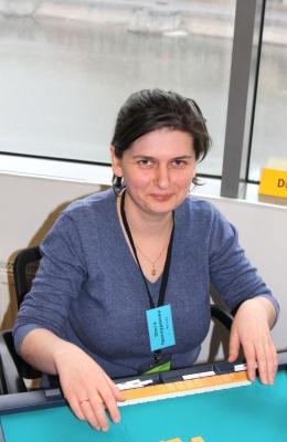 23-е место Ольга Проскурякова.