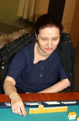 26-е место Галина Дуленко.