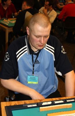 68-е место Виталий Савицкий.