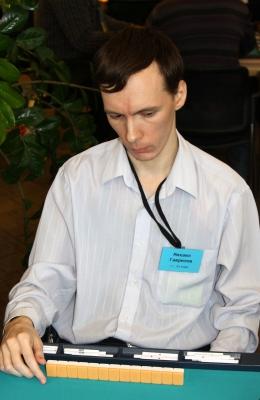 76-е место Михаил Гаврилов.