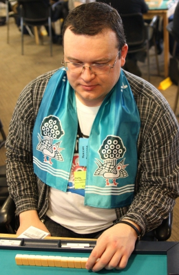 99-е место Максим Веселов.